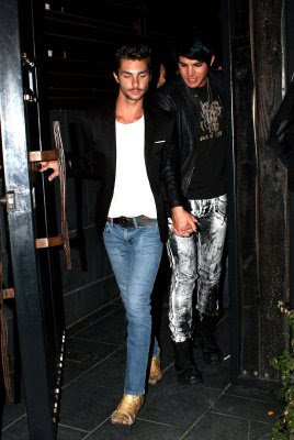 Adam Lambert and Boyfriend Drake LaBry Photo