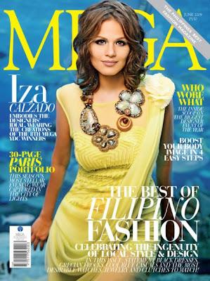Iza Calzado Mega Magazine June 2009