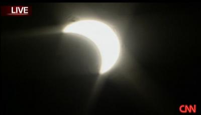 Asia's Solar Eclipse