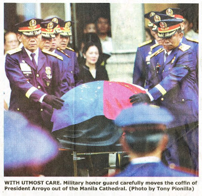 Pres. Arroyo Killed in Manila Bulletin's Caption