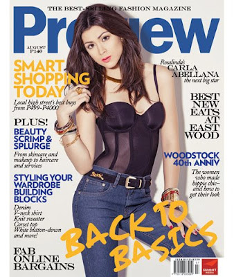 Carla Abellana Preview Magazine August 2009