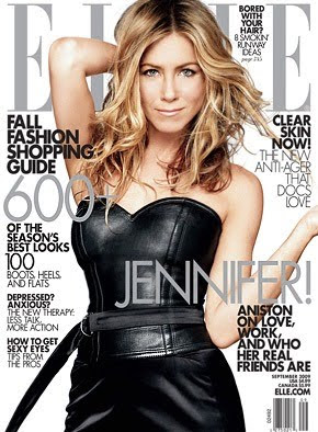 Jennifer Aniston Elle Magazine Cover