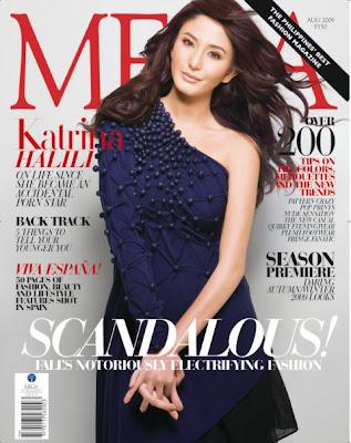 Katrina Halili Mega Magazine Cover