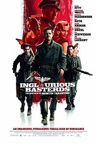Top 10 Hollywood Movies as of August 23, 2009 Inglourious Basterds