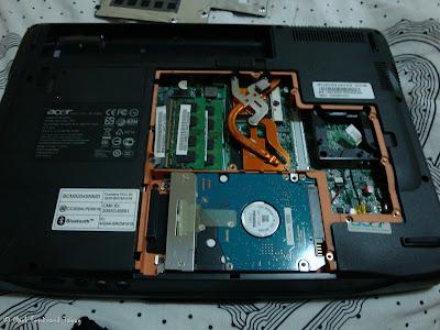 Inside of My Acer Aspire 4720 1