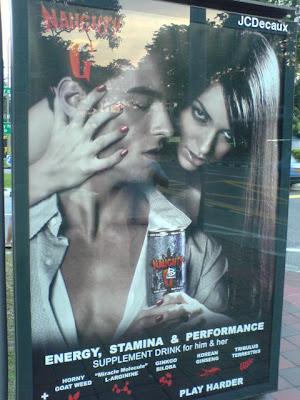 Naughty G Drink Naughty Ad