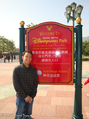 Hong Kong Disneyland Entrance Photo 10