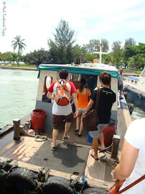 Pulau Ubin Singapore Boat Ride Photo 6