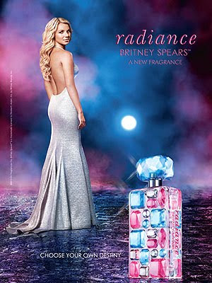 Britney Spears Radiance Fragrance Ad