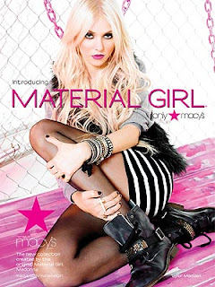 Madonna Sued Over Material Girl Line