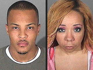 Rapper T.I. and Wife Mugshot Photo