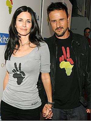 Courteney Cox and David Arquette Splits