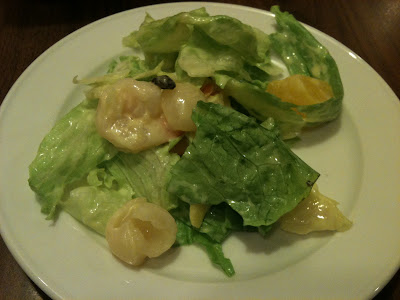 Swensen's Prawn and Fruit Salad