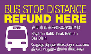 Singapore Bus Stop Distance Refund