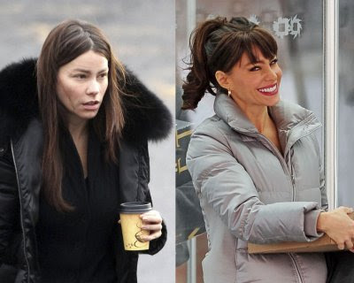 Sofia Vergara Caught Without Make-Up