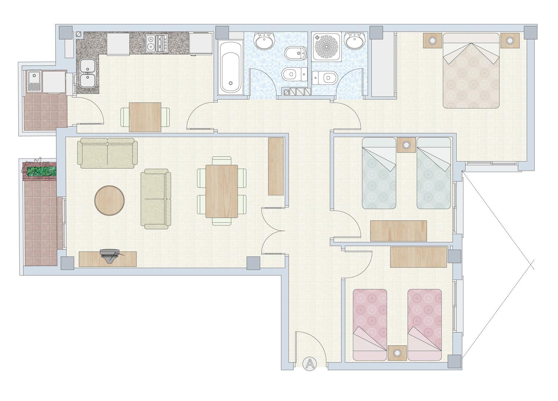 Venta pisos nuevos en pu ol valencia planos de las viviendas - Pisos nuevos en valencia ...