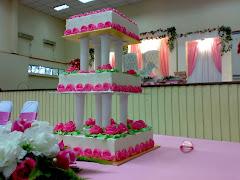 wedding cake . rm300