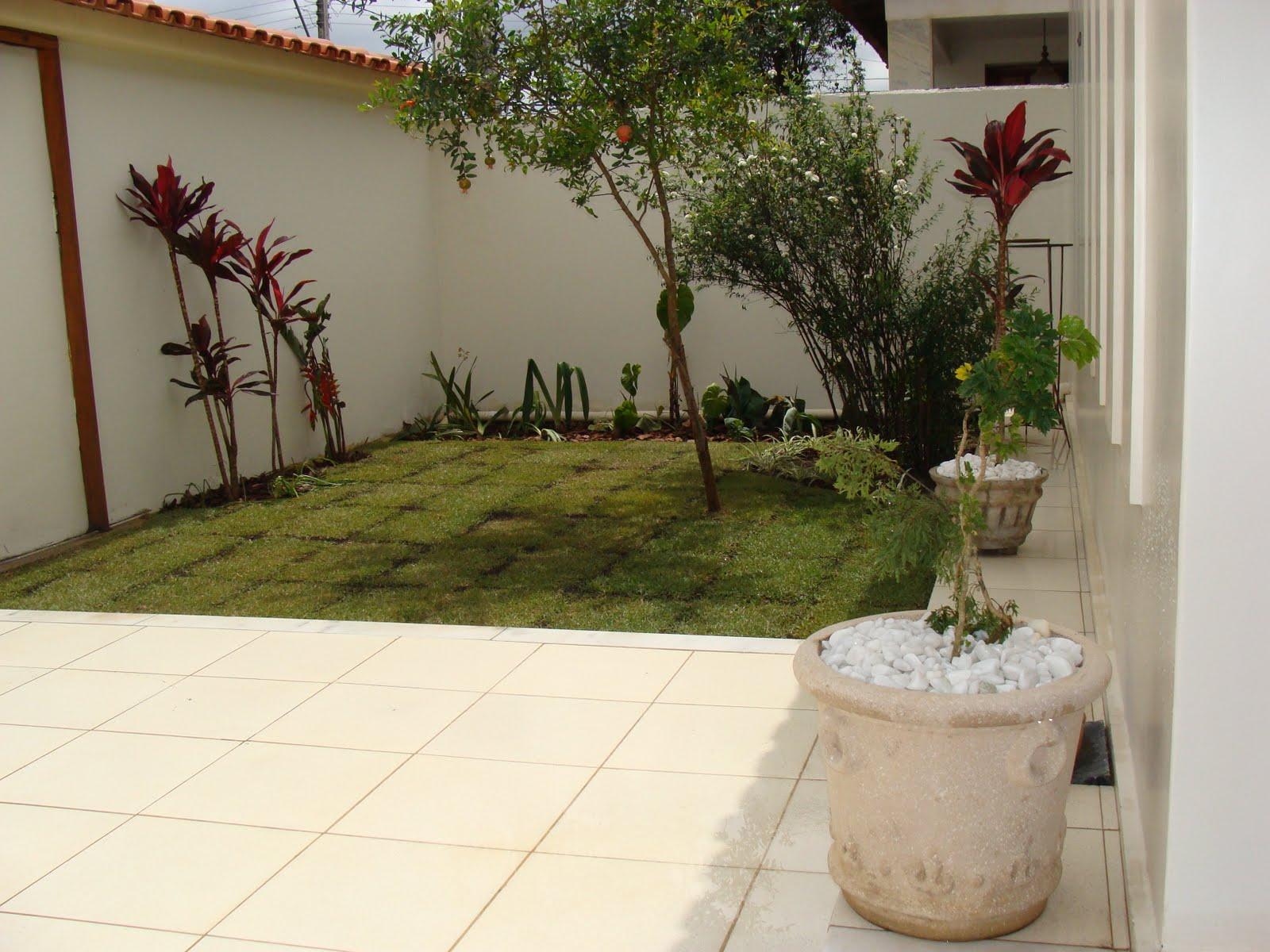 Jardim Natureza: Pequeno Espaço #505A24 1600 1200