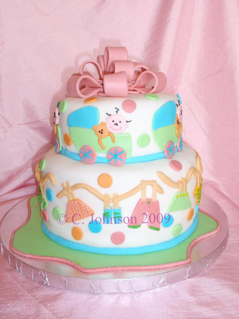 image cute baby shower cake download