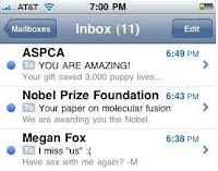 Humour - Les e-mails dont on rêve tous...