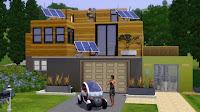 Placement de produit -Renault s'invite chez les Sims - Concept Twizy Z.E