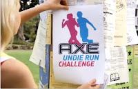 Axe Undie Run Challenge - Encore du sexy en vidéo