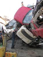 Crashed Car Bottle, un drôle d'embouteillage 1
