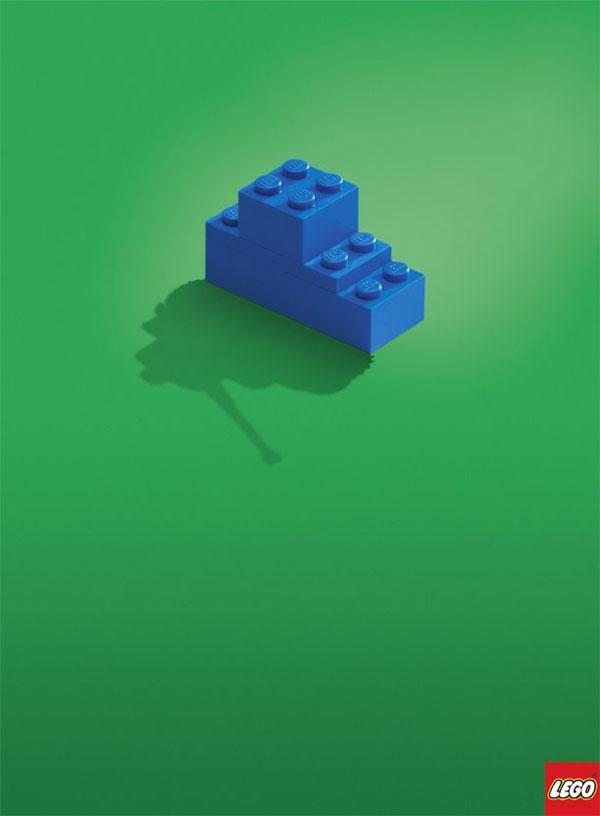 Publicité - Lego source d'imagination
