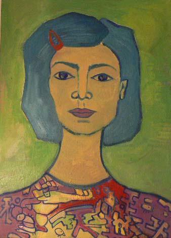 mujer con evillaa