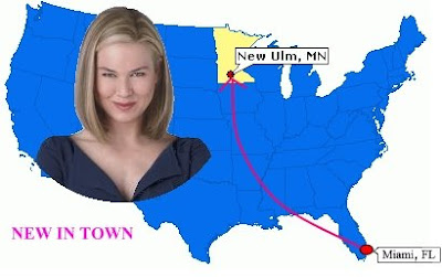 New Ulm Movie with Renee Zellweger - New in Town