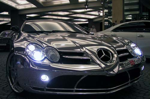 Auto Blog One Of World Most Expensive Car White Gold Mercedes Benz