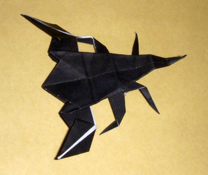 origami origami scorpion