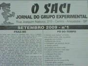 Jornal Literário 'O Saci' de Araçatuba
