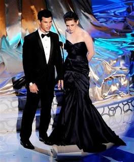 Taylor Lautner Kristen Stewart Academy Awards horror montage
