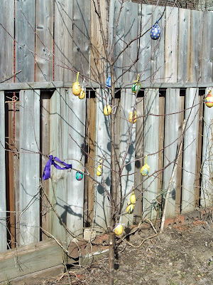 [Photo: Easter tree.]