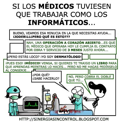 informàtica VS medicina
