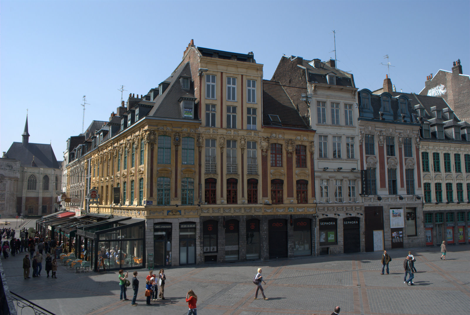 Uciel lille parte1 grand place for Chambre de commerce de lille