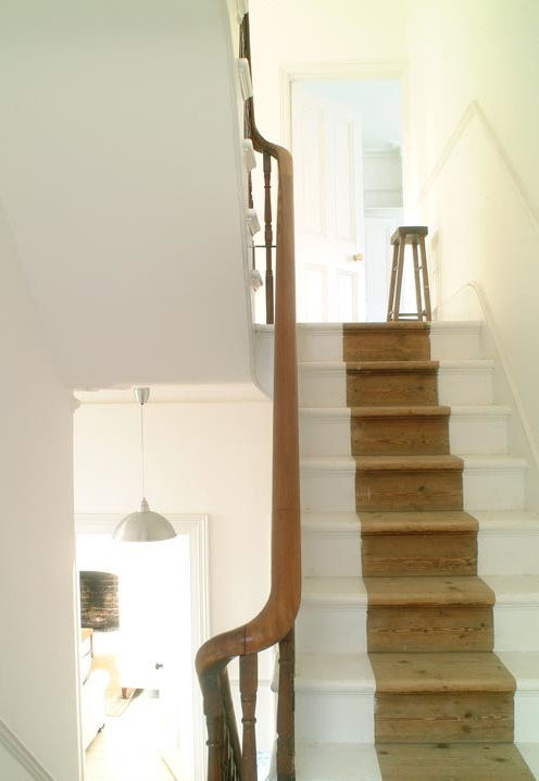 Classically eclectic stair runners for Painted stairs with runner