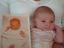 Sean as a baby