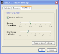 "The ""Vectors Settings"" Dialog"