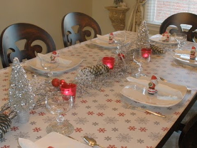 Wrapping Paper Tablecloth
