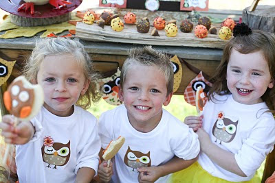 Thanksgiving Owl Kids Party