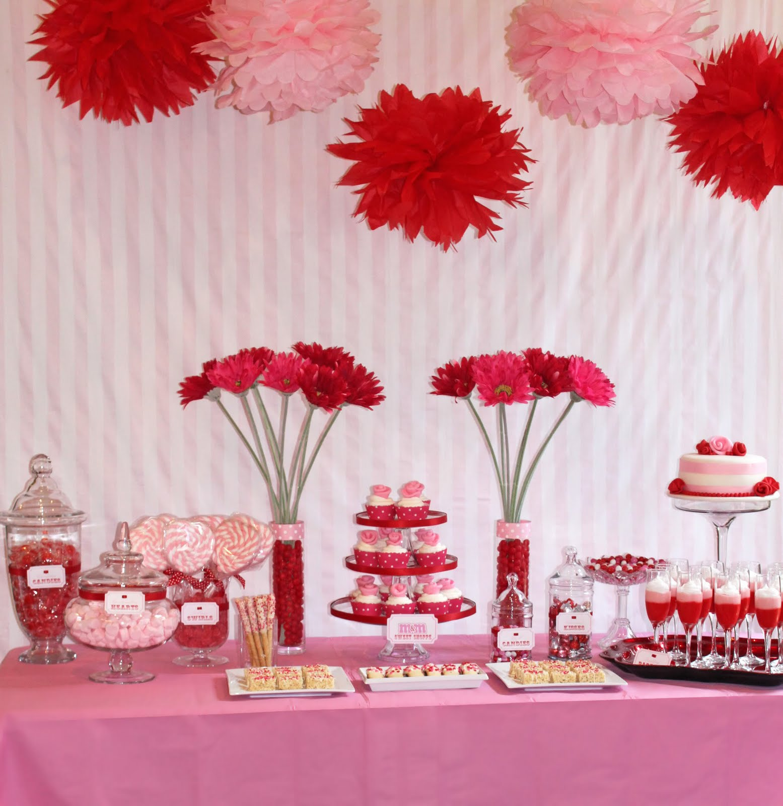 Sweet valentine 39 s day party oh my creative for Valentine day at home