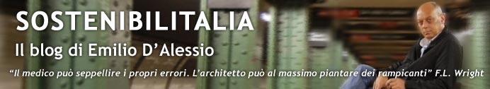 SOSTENIBILITALIA, il blog di Emilio D'Alessio