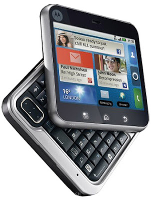 Android 2.1 Powers Motorola FLIPOUT Has Touch UI