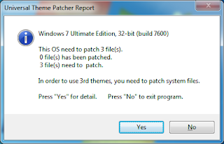 Universal Theme patcher installation