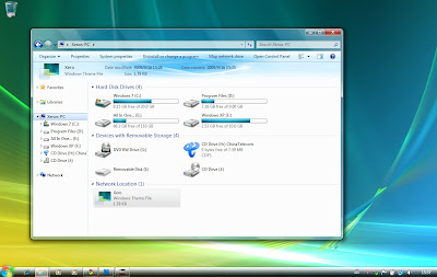 Xero Windows 7 Theme