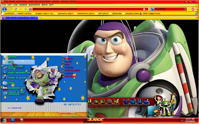 Toy Story Movie Windows 7 Theme