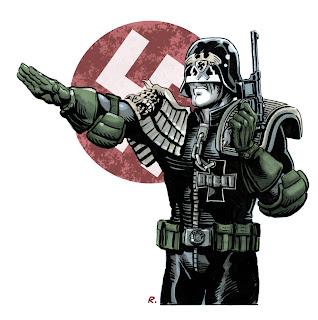 Kommandant Dredd by Grame Neil Reid