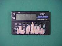 NEC World Time Quartz Alarm CC-130U